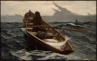 The Fog Warning Halibut Fishing 1885 Winslow Homer